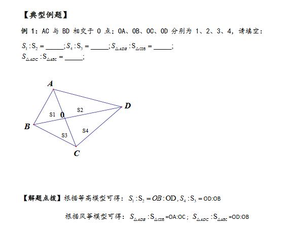 例题奥数小学直线型年级:几何文明知识点模型抄报小学风筝手平面四图片