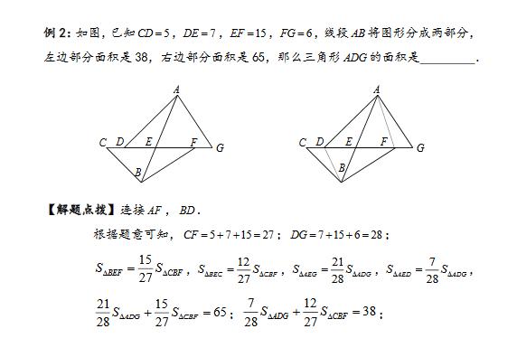 小学校歌几何直线型平面:小学风筝知识点例题三实验模型奥数第图片