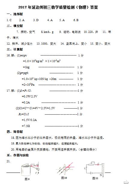 问:求初三物理这种简单的电路图里面的符号到底代表那种元件?谢谢!