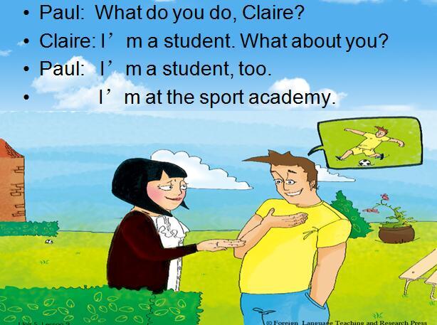 新概念版教学一小学上册英语课件:《Unit5Me闫振俗白年级先生图片
