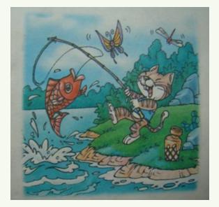 小学一年级看图作文范文:《看图写话8》图片