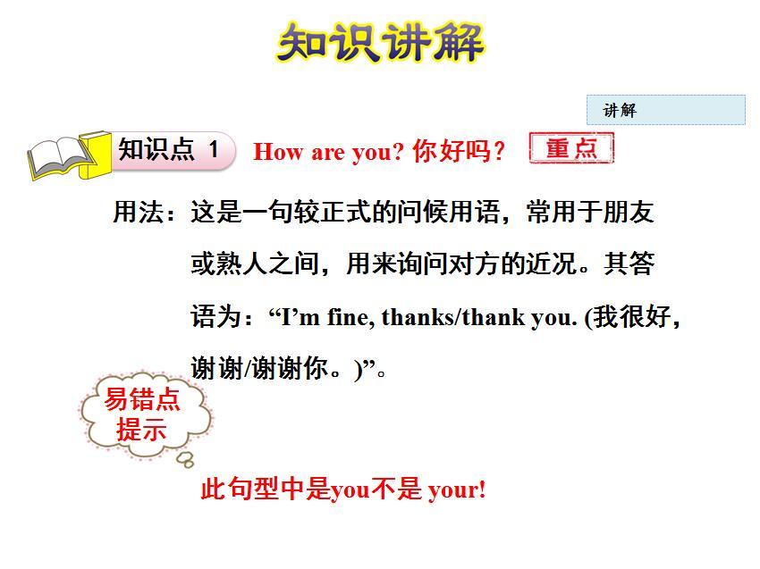 冀教版教学三年级高中英语课件:《Lesson3H小学上册片段图片