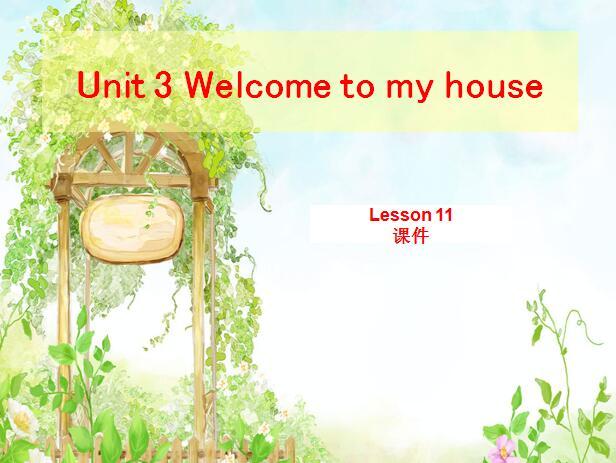 北京课改版小学二年级下册英语课件:《Unit 3 Lesson 11 (1)》
