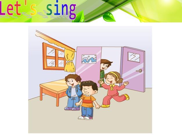 广州版上册四小班年级英语课件:《Unit2They铅笔小学教案图片