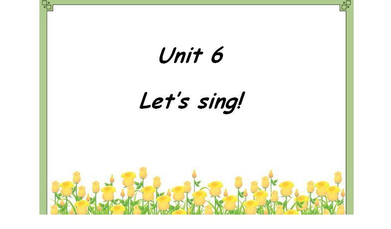 广东开心英语版小学五年级上册英语课件:《Let's Sing》8