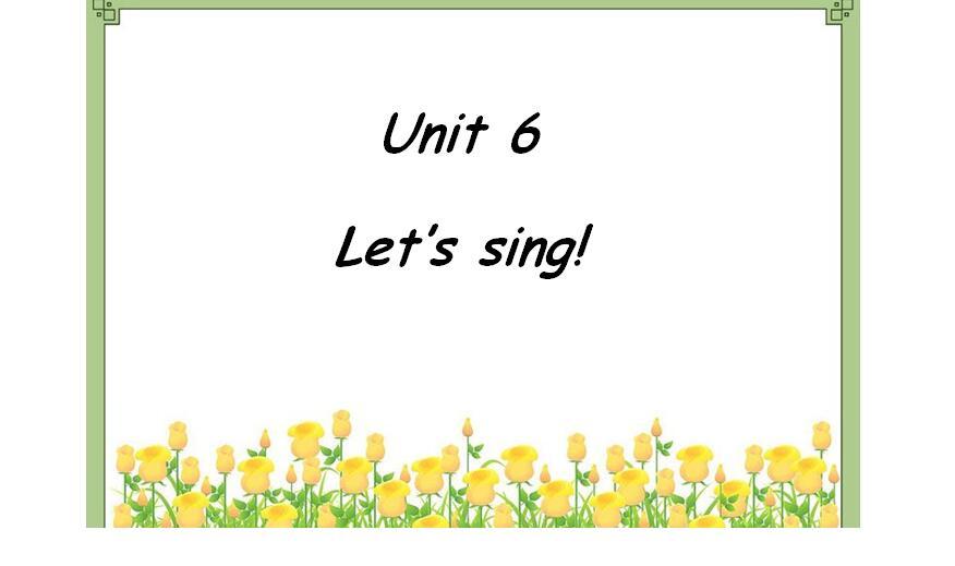 广东开心英语版小学五年级上册英语课件:《Let's Sing》9