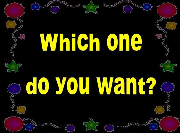 湘少版小学五年级上册英语课件:《Which one do you want》