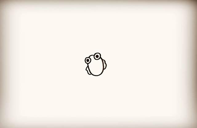 儿童简笔画小金鱼绘画教程 金鱼 3