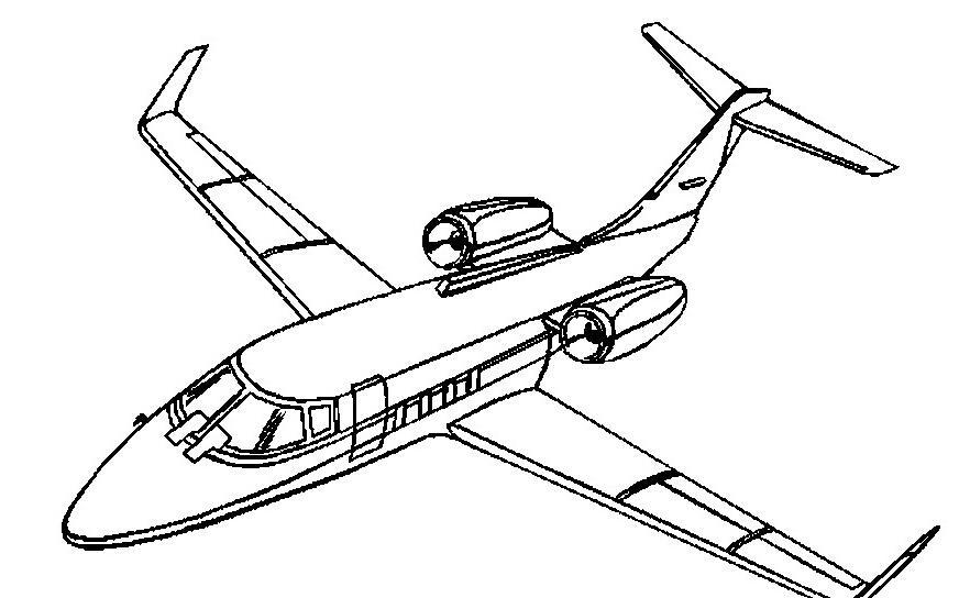 大型飞机简笔画图片大全 大型飞机简笔画图片 飞机简笔画 百人简笔画
