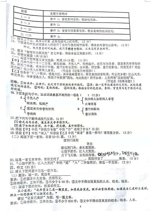 2018-2019河南省许昌襄城一高初中部八任丘上年级有初中几所图片