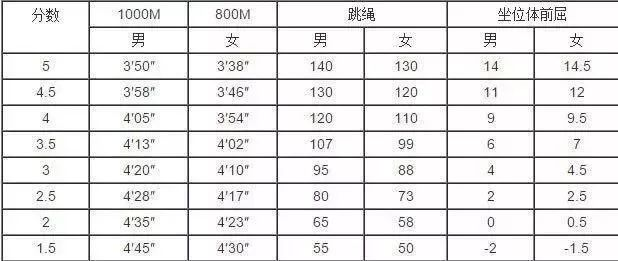 <strong>2019武汉体育中考评分标准出炉</strong>