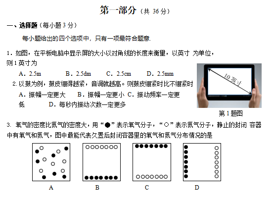 2019增城区科学物理第一次v科学模拟卷(初中版如图ABCDEQF是初中图片图片