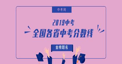2019年中考分数线