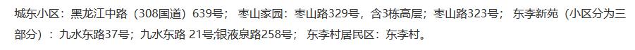 2021年山东青岛李沧区第二实验小学学区划片范围