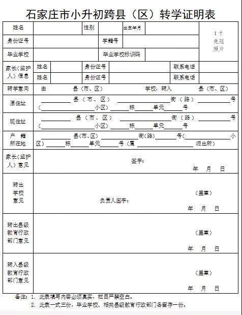 2021年河北石家庄栾城区义务教育招生入学政策